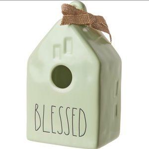 Rae Dunn Blessed Bird House